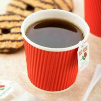 500 X 12oz / 360ml Kraft Cups disposable Coffee Cups paper cups For Drink Party