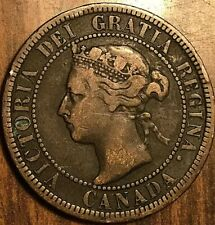 1893 CANADA LARGE CENT PENNY LARGE 1 CENT COIN