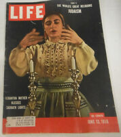 Life Magazine The World's Great Religions Judaism June 1955 072214R1