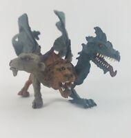 Safari Ltd Mythical Realms Chimera 3-Headed Creature W/Snake Head Tail!
