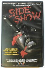 SIDE SHOW (1981) Bizarre Circus Horror BETA ~ TWE ~ Sid & Marty Krofft ~ NOT VHS
