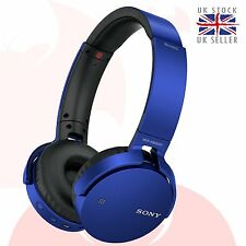 ORIGINALE SONY MDR-XB650BT BLUETOOTH Extra Basso Cuffie - BLU UK xb650bt