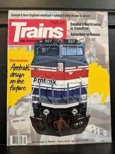 TRAINS June 1992
