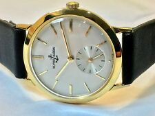 Vintage ULYSSE NARDIN 1960's, calibre N115H, 10K gold filled case, beautiful.