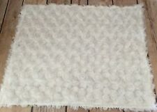 18 Inch Doll Accessories,  American Doll 🌺WHITE🌺Swirl Fur🌺Rug🌺