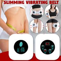 Lazy Vibrating Slimming Belt Electric Sauna Wrap Shaper Weight Loss Massager