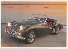 Triumph TR 3A MODERN postcard published by Classic and Sports Car