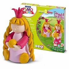 Fimo Kids Princess Form and Play Clay Set - Includes 4 Fimo Kids Clays