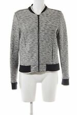 TOMMY HILFIGER Sweatjack wolwit-zwart gestippeld casual uitstraling Dames