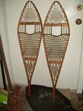Antique Tubbs Snowshoes Maine model #71 For Use or Cabin Cottage/cabin Decor