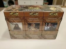 Star Wars CCG ENHANCED JABBA'S PALACE Box Factory SEALED 12 Decks SWCCG DECIPHER