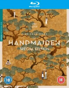 The Handmaiden Special Edition Extended & Theatrical Cuts Blu ray RB New Sealed