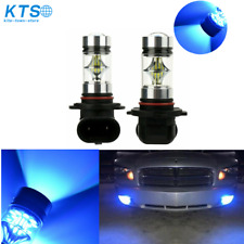 Fog Lights 8000K Ice Blue 100W LED Bulbs H10 9145 Fit For Ford F150 2002 - 2016