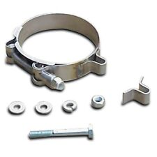 """DYNATECH 5"""" Exhaust Tube Clamp Collar Assembly Kit Header Collector U-Tab  NEW"""
