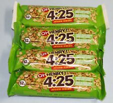 OH Henry Limited Edition 4:25 Peanut Caramel Four Candy Bars From Canada