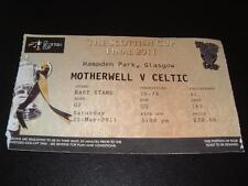 Celtic Football Scottish Fixture Tickets & Stubs