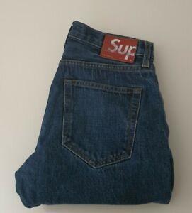 SS18 Supreme Denim slim jeans size 30 W30 L30 made in U.S.A