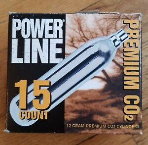 DAISY OUTDOOR PRODUCTS POWERLINE CO2 CARTRIDGES *ONLY 11 LEFT IN PACKAGE