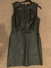Primark Faux Leather Dress Size 10