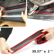 Car Sticker Rubber Protector 5D Carbon Fiber Molding Door Sill Accessories Parts