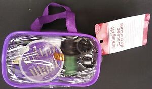 TRAVEL SEWING KIT Everything for quick repair in Zippered Case, SELECT: Color