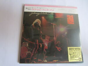 JOHNNY WINTER - LIVE JOHNNY WINTER AND 1971/2011 JAPAN MINI LP CD SICP-3101