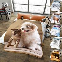 3D Animal Printed Luxury Throw/Blanket Super Soft Warm Cosy Throw 150x200
