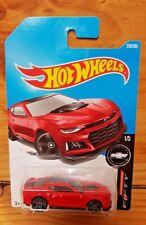 Hot Wheels 2017 CAMARO FIFTY 1/5 2017 CAMARO ZL1 220/365 RED (A+/A)