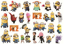 26pcs Minions Vinyl Stickers Snowboard Luggage Car Laptop Bike Phone Helmet