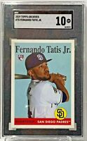2019 Topps Archives #75 Fernando Tatis Jr SGC GM 10 San Diego Padres