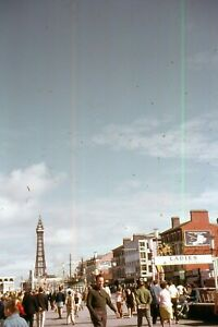 35mm SLIDES : BLACKPOOL MEMORIES FROM LONG AGO : PLEASURE BEACH ATTRACTIONS
