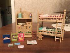 Sylvanian families muebles Set 4254 Para Dormitorio De Niños