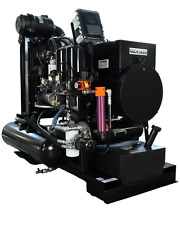 30 Kw 30 Cfm Spray Foam Rig Diesel Generator Air Compressor Dryer Combo
