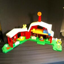 Fisher Price Little People Farm Set with Animals (Early 2000's) EUC