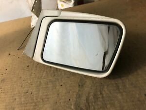 1988 SUBARU RX left driver white side view mirror