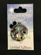 Happy Holidays Mickey & Minnie 2012 Limited Edition