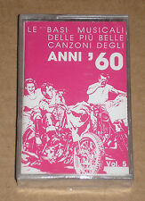 LE BASI MUSICALI DEGLI '60 VOL.5 AMERICA - MUSICASSETTA MC SIGILLATA (SEALED)