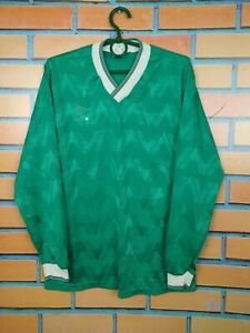 Umbro Jersey Long Sleeve SMALL Shirt Vintage Retro Football Soccer