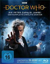 Doctor Who - Die Peter Capaldi Jahre: Der komplette 12. Doktor. Limited Edition (2019, Blu-ray)