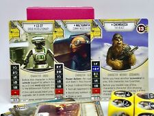Star Wars Destiny Chewbacca Maz L3-37 Infinite custom theme deck 34 cards 8 dice