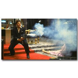 Scarface Classic Movie Art Silk Poster 13x24inch Al Pacino 008