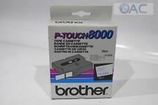 orig. Brother TX-243 TX243 TX 243 Farbband weiss-blau 18mm 15m PT-8000 # S341-A2