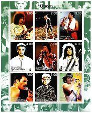 Queen 2000 Tadjikistan Stamp Sheet; Mnh Perforated; Mint - Quite Rare!