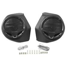 Black 6-1/2'' King Rear Trunk Speakers For Harley Tour Pak Road Glide 2014-2020