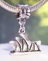 Sydney Opera House Australia Trip Landmark Dangle Charm for European Bracelets