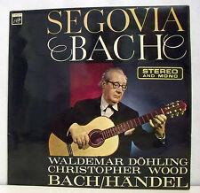 "33 tours SEGOVIA DOHLING WOOD Disque LP 12"" BACH HANDEL Guitare SAGA FID 2085"