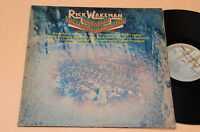 RICK WAKEMAN LP JOURNEY TO THE CENTRE OF THE EARTH 1°ST ORIG ITALY 1974+BOOK EX