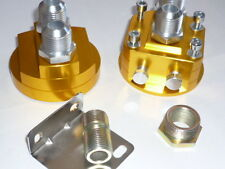 Remote Oil Filter Adaptor - JACKMASTER - AN10 or AN8 fittings