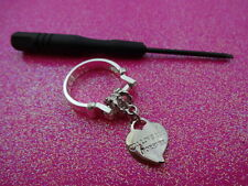 Changeable Charm Dangle Ring Size 8.5