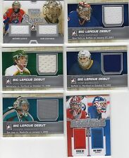 Tom Barrasso 2012-13 ITG Between the Pipes Big League Debut jersey /100